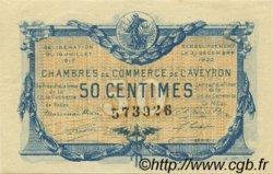 50 Centimes FRANCE régionalisme et divers Rodez et Millau 1917 JP.108.11 SPL à NEUF