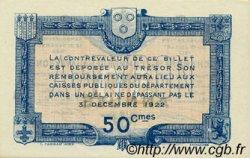 50 Centimes FRANCE régionalisme et divers RODEZ ET MILLAU 1917 JP.108.12 SPL à NEUF
