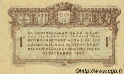 1 Franc FRANCE régionalisme et divers Rodez et Millau 1917 JP.108.14 SPL à NEUF