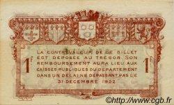 1 Franc FRANCE régionalisme et divers Rodez et Millau 1917 JP.108.15 SPL à NEUF
