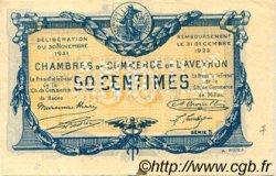 50 Centimes FRANCE régionalisme et divers Rodez et Millau 1921 JP.108.17 SPL à NEUF