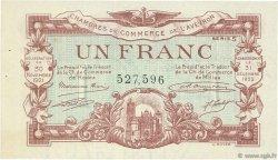 1 Franc FRANCE régionalisme et divers RODEZ ET MILLAU 1921 JP.108.18 TTB à SUP