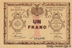 1 Franc FRANCE régionalisme et divers Rouen 1920 JP.110.03 SPL à NEUF