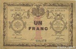 1 Franc FRANCE régionalisme et divers Rouen 1920 JP.110.03 TB