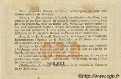 50 Centimes FRANCE régionalisme et divers ROUEN 1915 JP.110.07 TTB à SUP
