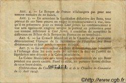 50 Centimes FRANCE régionalisme et divers ROUEN 1915 JP.110.07 TB