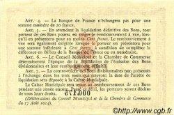 1 Franc FRANCE régionalisme et divers Rouen 1915 JP.110.10 SPL à NEUF