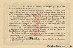 1 Franc FRANCE régionalisme et divers ROUEN 1915 JP.110.10 TTB à SUP