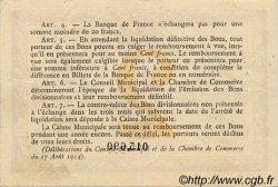 2 Francs FRANCE régionalisme et divers Rouen 1915 JP.110.13 TTB à SUP