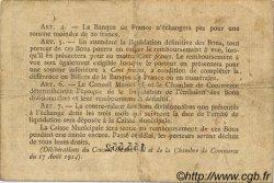 2 Francs FRANCE régionalisme et divers ROUEN 1915 JP.110.13 TB