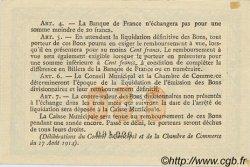 50 Centimes FRANCE régionalisme et divers ROUEN 1916 JP.110.18 SPL à NEUF