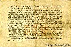 50 Centimes FRANCE régionalisme et divers Rouen 1916 JP.110.18 TTB à SUP