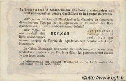 1 Franc FRANCE régionalisme et divers ROUEN 1918 JP.110.39 SPL à NEUF