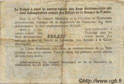 50 Centimes FRANCE régionalisme et divers Rouen 1920 JP.110.46 TB