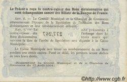 50 Centimes FRANCE régionalisme et divers Rouen 1920 JP.110.53 SPL à NEUF