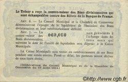 50 Centimes FRANCE régionalisme et divers Rouen 1920 JP.110.61 SPL à NEUF