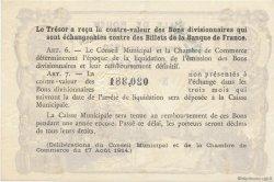 1 Franc FRANCE régionalisme et divers ROUEN 1920 JP.110.62 SPL à NEUF
