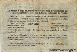 50 Centimes FRANCE régionalisme et divers Rouen 1922 JP.110.64 TB