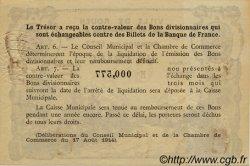 1 Franc FRANCE régionalisme et divers ROUEN 1922 JP.110.65 SPL à NEUF