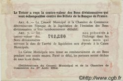 2 Francs FRANCE régionalisme et divers ROUEN 1922 JP.110.66 TTB à SUP