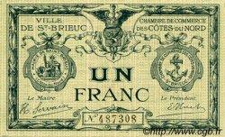1 Franc FRANCE régionalisme et divers SAINT-BRIEUC 1918 JP.111.06 TTB à SUP