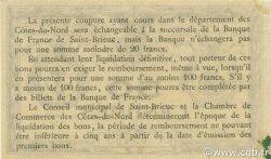 50 Centimes FRANCE régionalisme et divers Saint-Brieuc 1918 JP.111.11 SPL à NEUF
