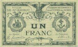 1 Franc FRANCE régionalisme et divers Saint-Brieuc 1918 JP.111.12 SPL à NEUF