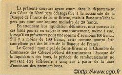 50 Centimes FRANCE régionalisme et divers Saint-Brieuc 1918 JP.111.13 SPL à NEUF