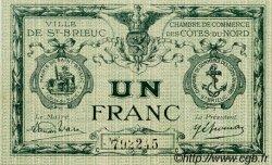 1 Franc FRANCE régionalisme et divers Saint-Brieuc 1918 JP.111.15 SPL à NEUF