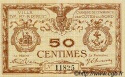 50 Centimes FRANCE régionalisme et divers SAINT-BRIEUC 1918 JP.111.17 SPL à NEUF
