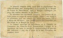 1 Franc FRANCE régionalisme et divers Saint-Brieuc 1918 JP.111.18 TB