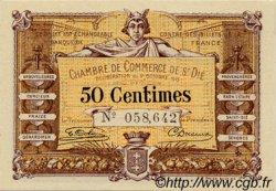 50 Centimes FRANCE régionalisme et divers SAINT-DIE 1915 JP.112.01 SPL à NEUF