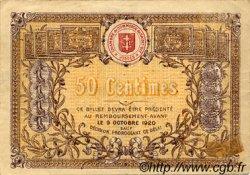 50 Centimes FRANCE régionalisme et divers Saint-Die 1915 JP.112.01 TTB à SUP