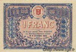 1 Franc FRANCE régionalisme et divers Saint-Die 1915 JP.112.03 SPL à NEUF