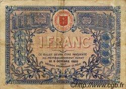 1 Franc FRANCE régionalisme et divers Saint-Die 1915 JP.112.03 TB