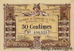 50 Centimes FRANCE régionalisme et divers SAINT-DIE 1916 JP.112.05 SPL à NEUF