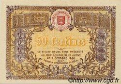 50 Centimes FRANCE régionalisme et divers Saint-Die 1916 JP.112.05 TTB à SUP