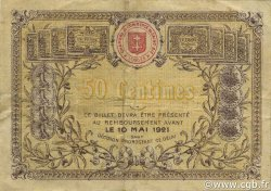 50 Centimes FRANCE régionalisme et divers SAINT-DIE 1916 JP.112.05 TB