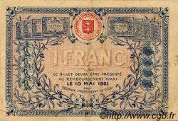 1 Franc FRANCE régionalisme et divers Saint-Die 1916 JP.112.08 TTB à SUP