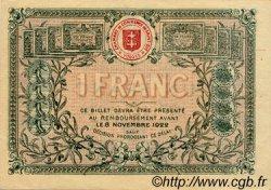 1 Franc FRANCE régionalisme et divers Saint-Die 1917 JP.112.11 SPL à NEUF