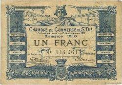 1 Franc FRANCE régionalisme et divers Saint-Die 1917 JP.112.11 TB