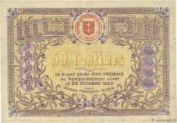 50 Centimes FRANCE régionalisme et divers SAINT-DIE 1918 JP.112.12 TB
