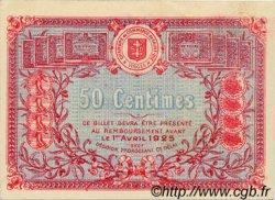 50 Centimes FRANCE régionalisme et divers SAINT-DIE 1920 JP.112.16 SPL à NEUF