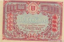 50 Centimes FRANCE régionalisme et divers SAINT-DIE 1920 JP.112.17 SPL à NEUF