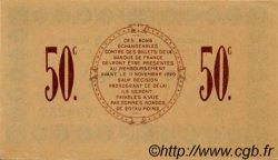 50 Centimes FRANCE régionalisme et divers Saint-Dizier 1916 JP.113.11 SPL à NEUF