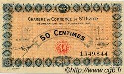 50 Centimes FRANCE régionalisme et divers SAINT-DIZIER 1917 JP.113.15 SPL à NEUF