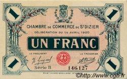 1 Franc FRANCE régionalisme et divers Saint-Dizier 1920 JP.113.19 SPL à NEUF