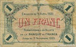 1 Franc FRANCE régionalisme et divers Saint-Dizier 1920 JP.113.19 TB