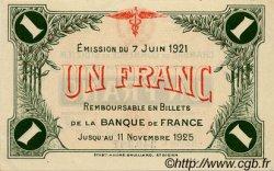 1 Franc FRANCE régionalisme et divers SAINT-DIZIER 1921 JP.113.22 SPL à NEUF