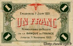 1 Franc FRANCE régionalisme et divers Saint-Dizier 1921 JP.113.22 TTB à SUP